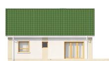 Проект дома с мансардным помещением