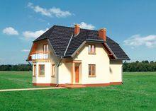 Солнечный дом в два этажа