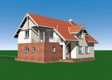 Проект привлекательного особняка с гаражом и цокольным этажом