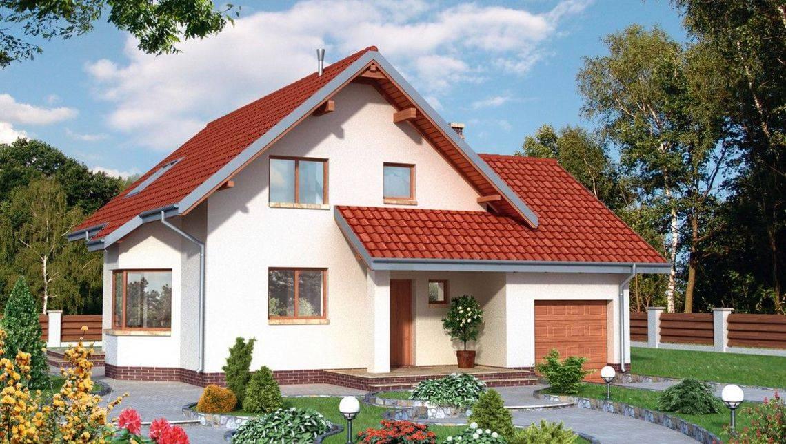 Красивый проект дома с габаритами 12 на 12