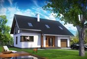 Небольшой дом со стильным и простым дизайном