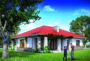 Красивый загородный дом с невероятной террасой и четырьмя спальнями