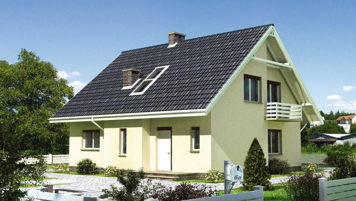 Мансардный коттедж 170 m² в традиционном стиле
