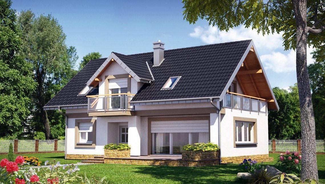 Симпатичный дом с тремя спальнями на мансардном этаже