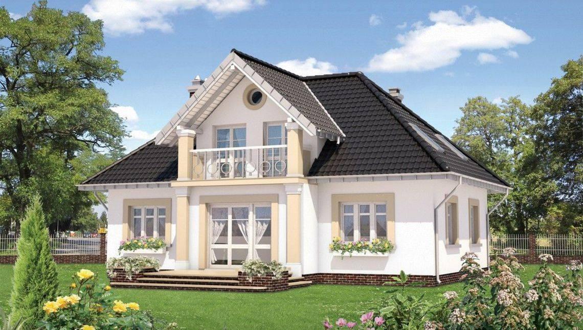 Восхитительный загородный жилой дом площадью 120 м2