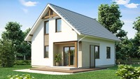 Проект замечательного летнего домика