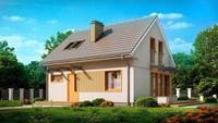 Проект дома с мансардой 7 на 9 в классическом стиле