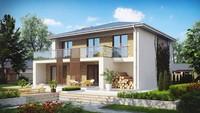 Проект двухэтажного дома для строительства