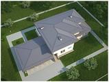 Проект роскошной двухэтажной усадьбы в стиле ранчо