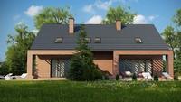 Небольшой мансардный дом на две семьи