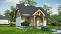 Летний домик 35 m²