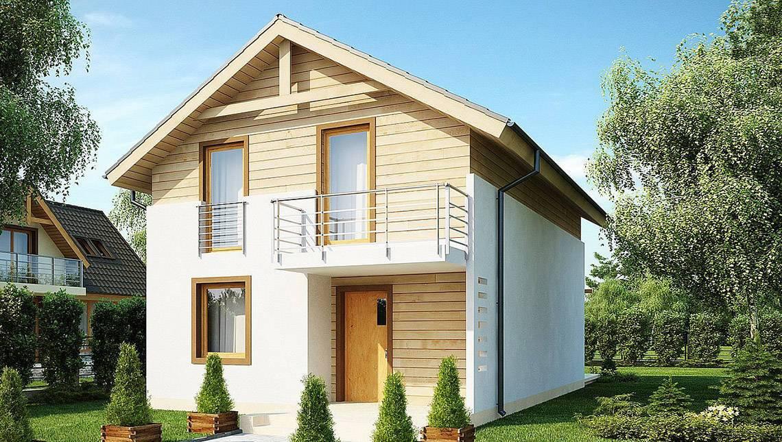 Небольшой классический загородный дом