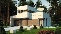 Модерновый дом с площадью до 150 m²