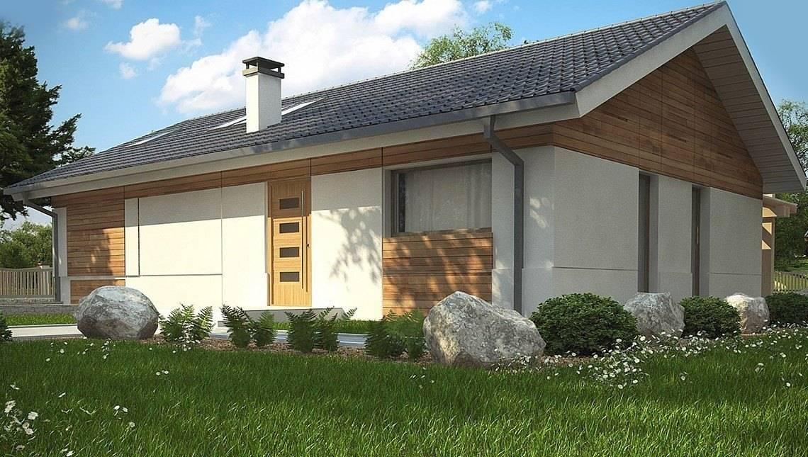 Проект дома в классическом стиле со вторым светом в кухне-студии