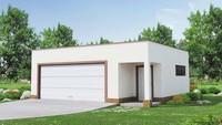 Минималистичный проект гаража на 2-е машины