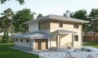 Двухэтажный особняк жилой площадью 100 м2