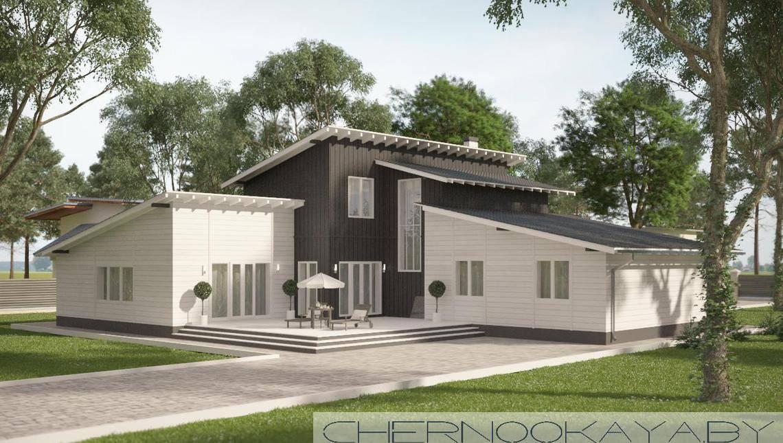 Загородный дом для отдыха с шестью спальнями