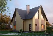 Проект великолепного загородного особняка с пятью спальнями