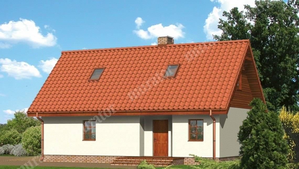 Проект современного гаража с просторным жилым помещением