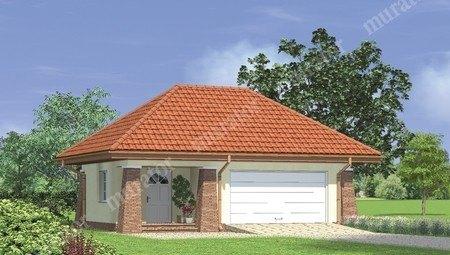 Проект красивого гаража на 2 машины