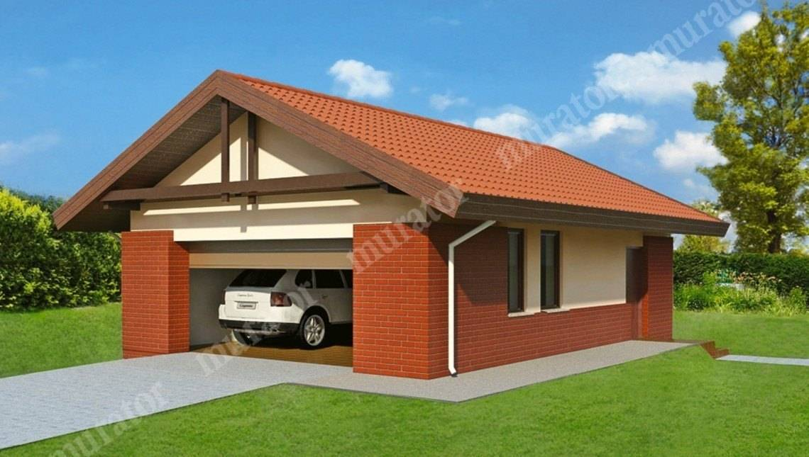 Проект превосходного гаража на 2 авто