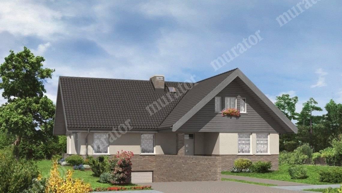 Проект красивого дома с гаражом на 2 машины