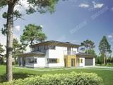 Проект стильного строения на 6 спален