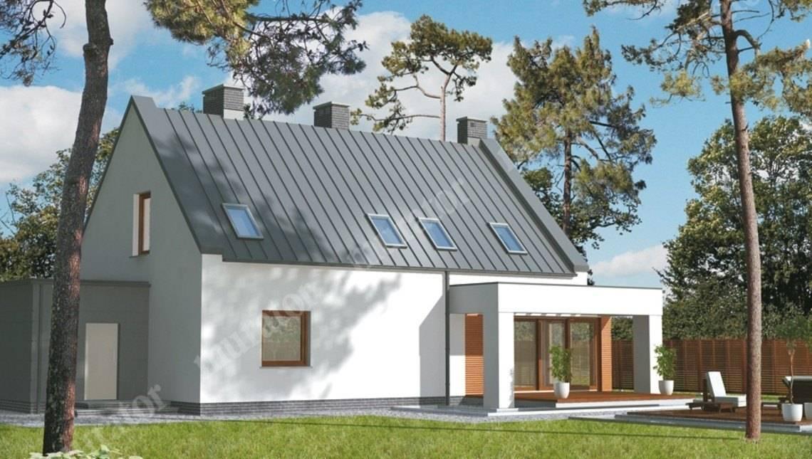 Проект стильного строения на 5 спален