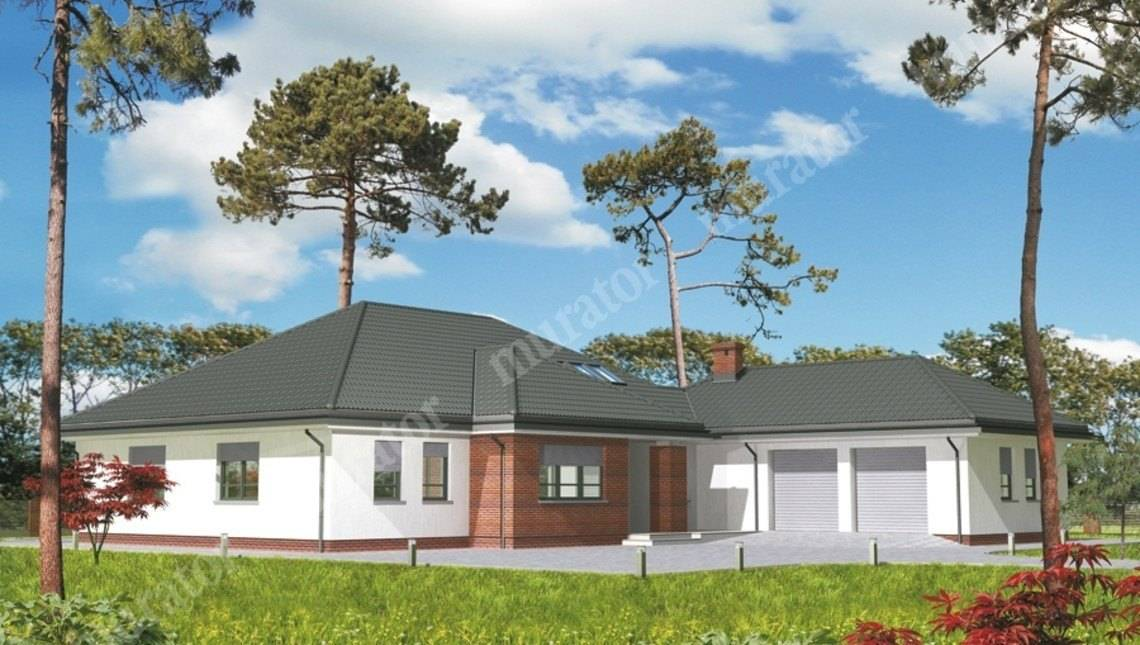 Проект жилого дома на 5 спален