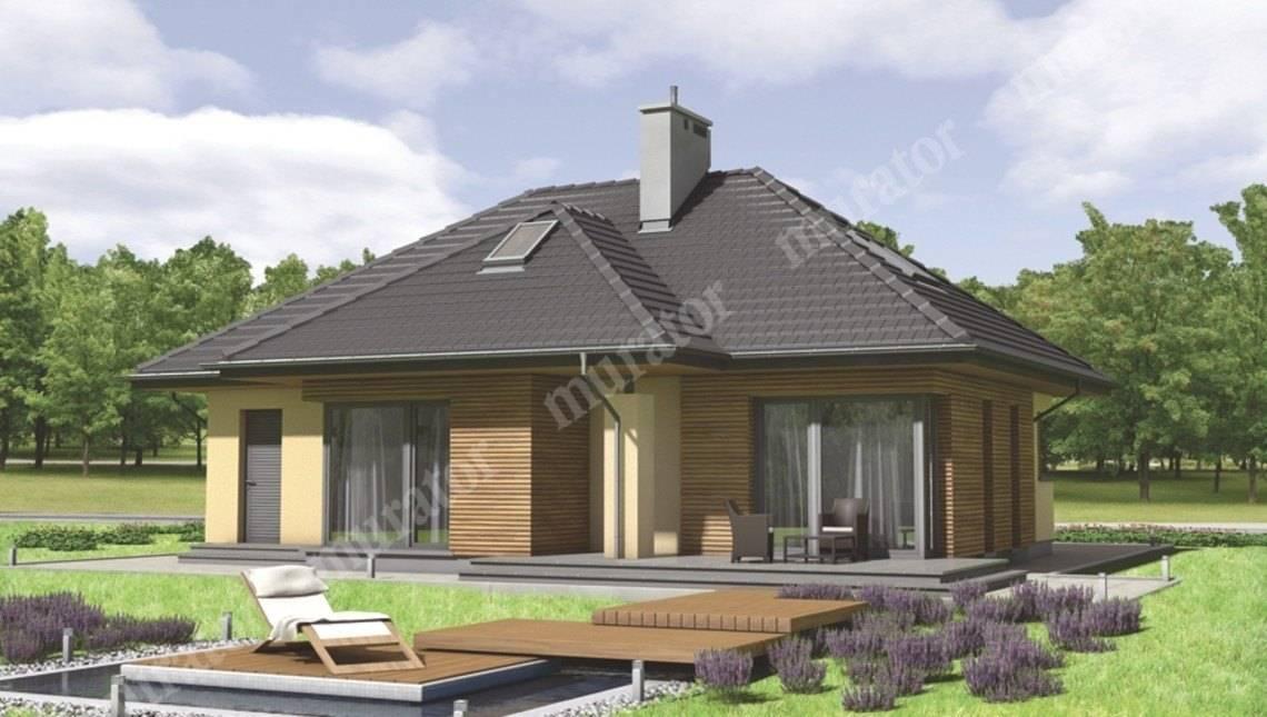 Проект двухэтажного дома на 4 спальни