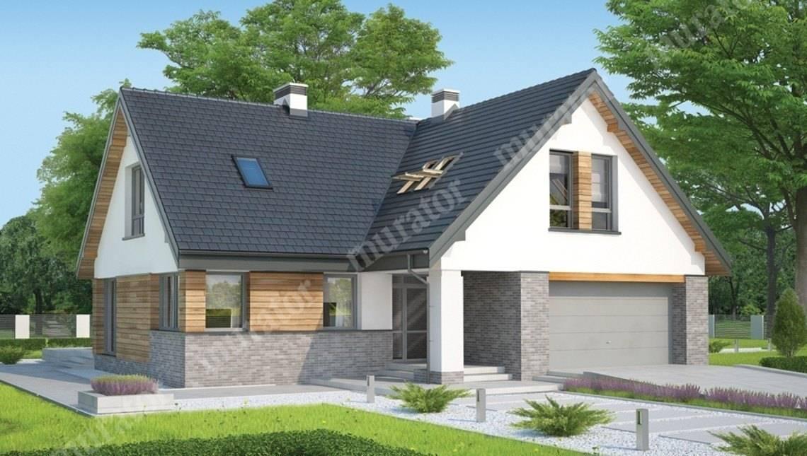 Проект стильного жилого строения на 6 спален