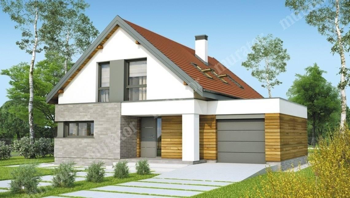 Проект красивого дома на 130 м2