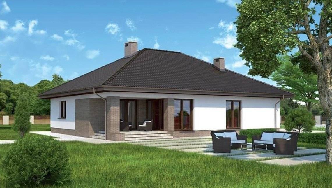 Проект одноэтажного изысканного строения