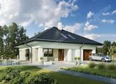 Проект представительного жилого дома с террасой