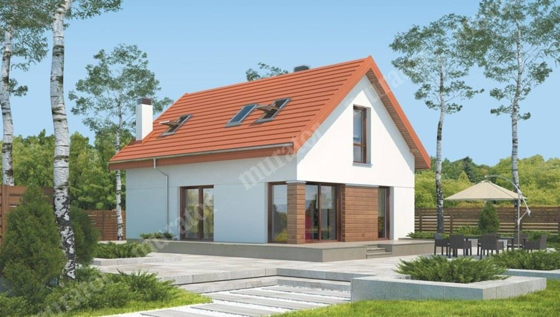 Проект миловидного дома на 5 спален