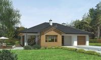 Проект интересного дома натурального направления