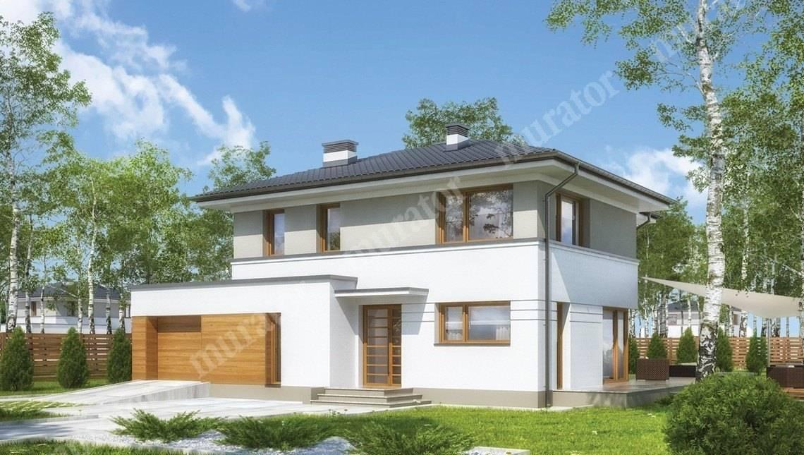 Проект солидного двухэтажного строения