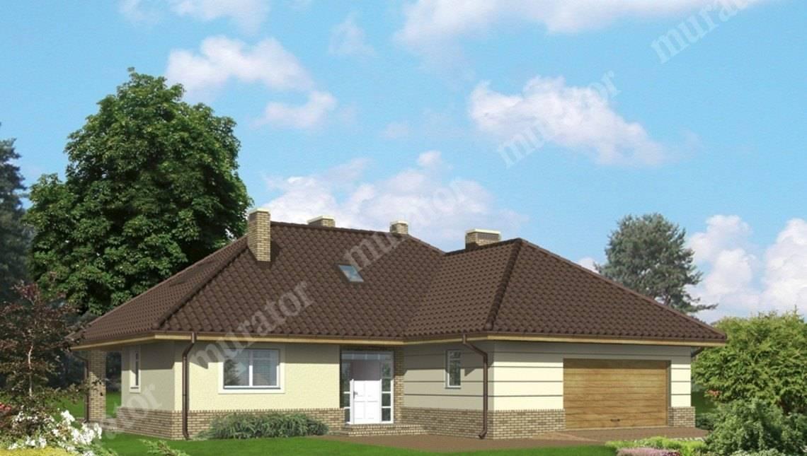 Проект колоритного жилого дома с мансардой