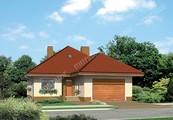 Проект красивого дома с двумя верандами