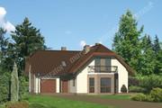 Проект представительского дома сложной формы