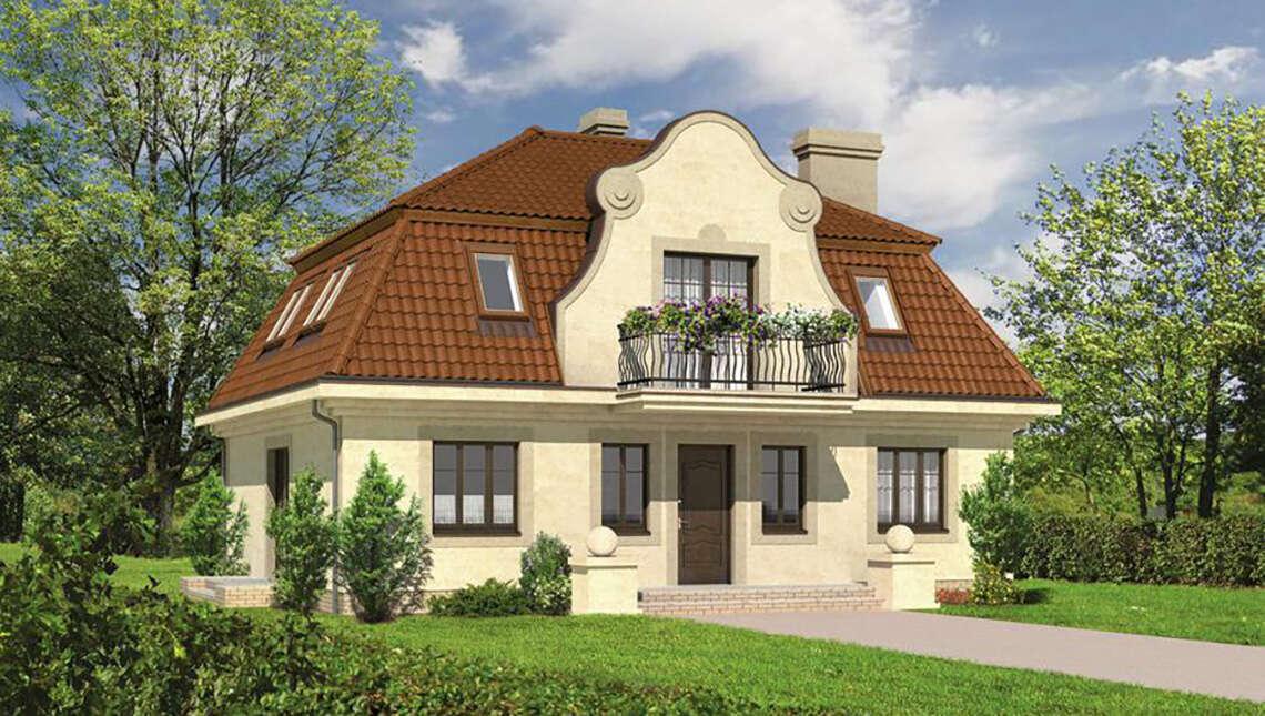 Проект великолепного дома на два этажа