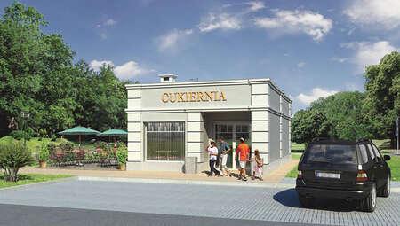 Проект магазина площадью 50 м2