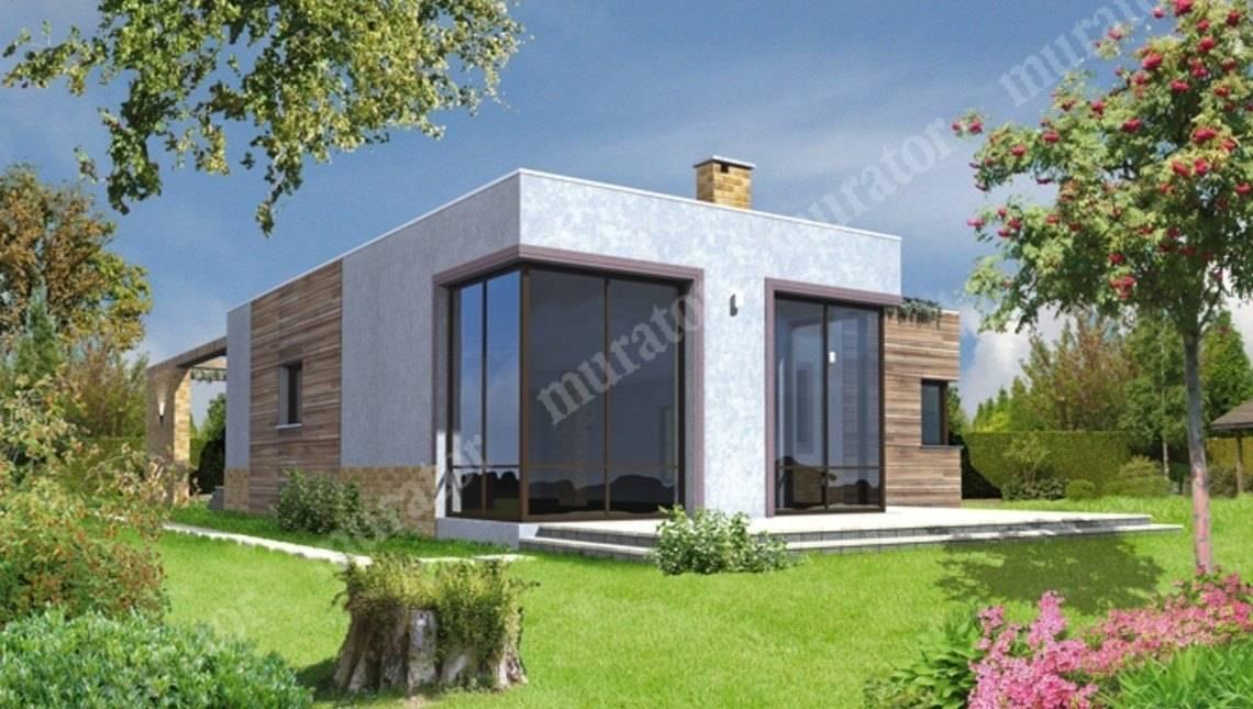 Проект красивого дома из кубических форм