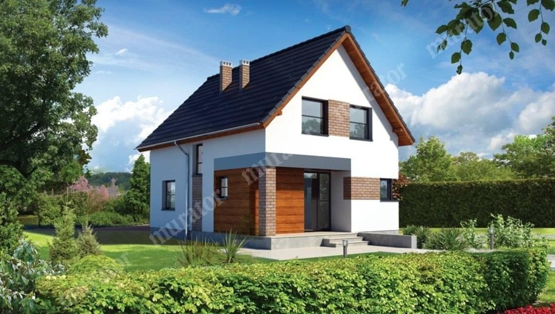 Проект симпатичного двухэтажного дома
