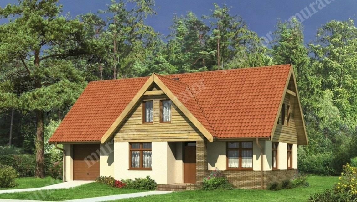 Проект двухэтажного привлекательного жилого дома