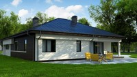 Планировка одноэтажного дома площадью 175 кв.м.