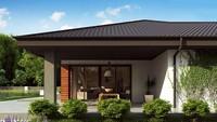 Готовый проект строительства большого дома площадью 175 кв.м.
