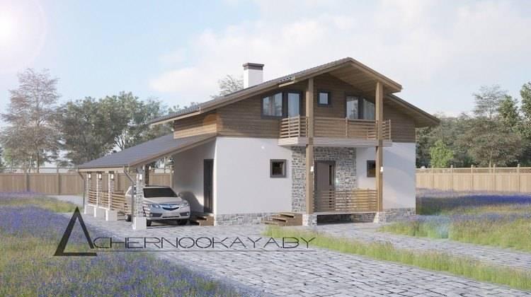 Привлекательный дом для отдыха с парной и комнатами для отдыха