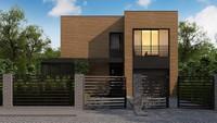 План изящного дома площадью 177 кв. м со вторым светом