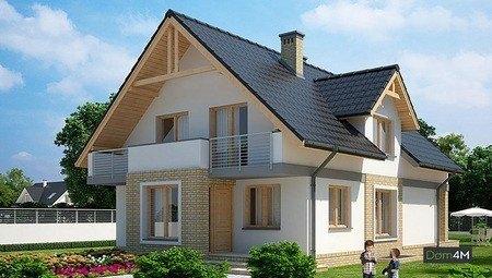Красивый жилой дом с пятью спальными